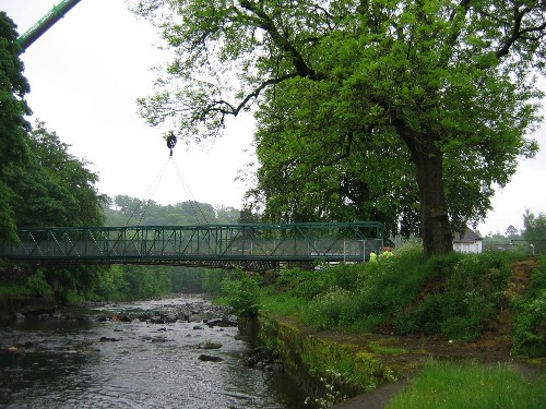 New Temporary Bridge from Catrine to Daldorch