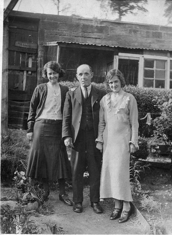 Annie Kyle, James Kyle and Gina Kyle wife of Jack Jackson